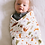 Thumbnail: Muslin Swaddle - Forest Friends