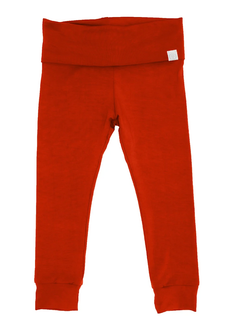 Red Jogger leggings