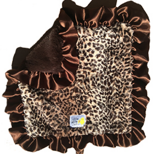 Little Yellow Chick Leopard Blanket - Lap