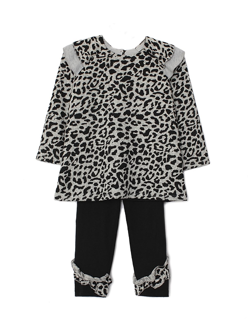 Isobella and Chloe Cheetah Set