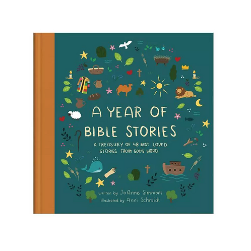 A Year of Bible Stories Book