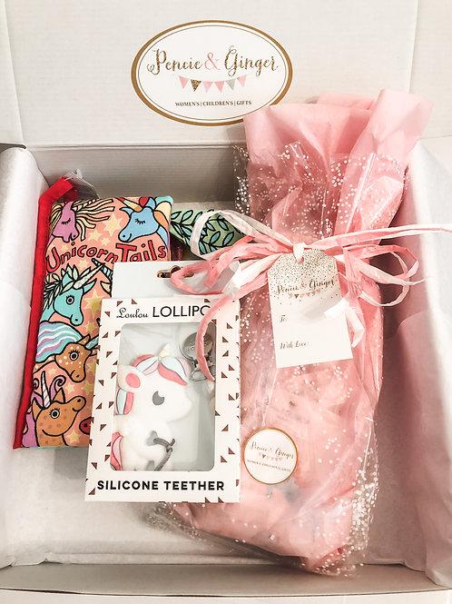 Unicorn Dreams Baby Box