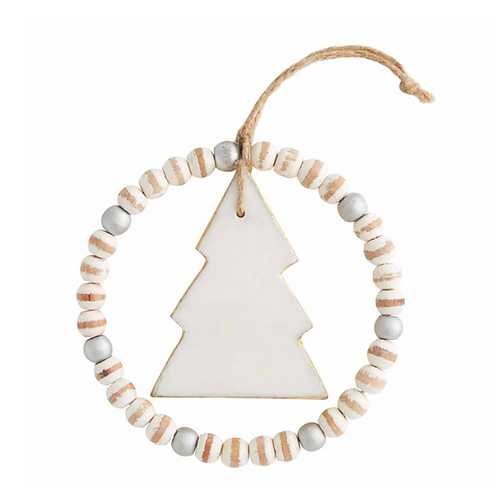Marble Tree Ornament