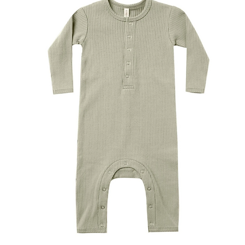 Quincy Mae Ribbed Jumpsuit