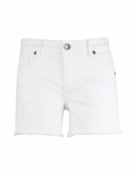 Kut From The Kloth White Fray Shorts
