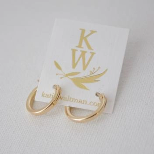 Small Gold Filled Hoop Earrings
