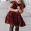 Thumbnail: Red Velvet Dress