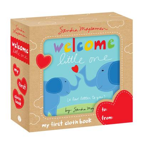 Welcome Little One Cloth Book