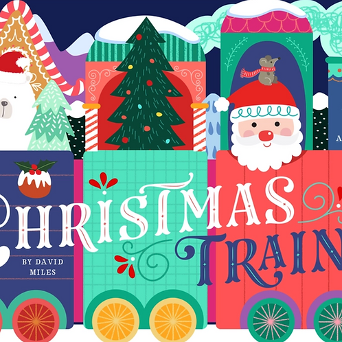 Christmas Train Book