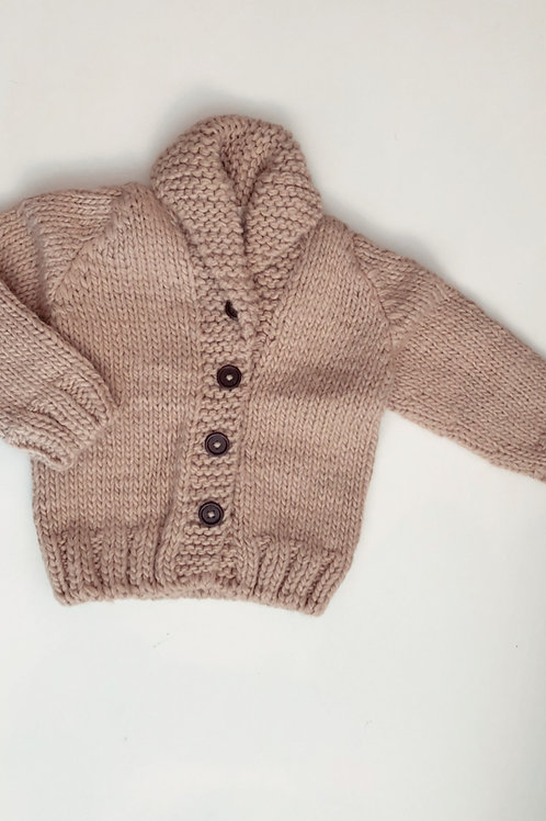 Button Knit Sweater