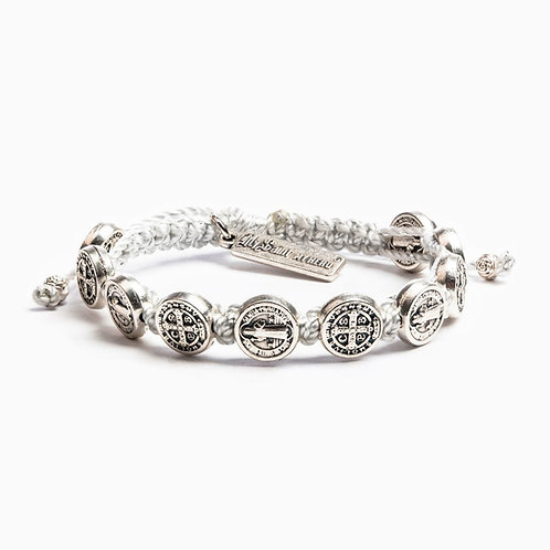 Silver Blessing Bracelet