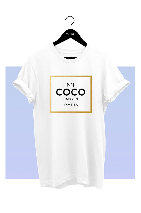 NUMBER ONE COCO GRAPHIC TEE