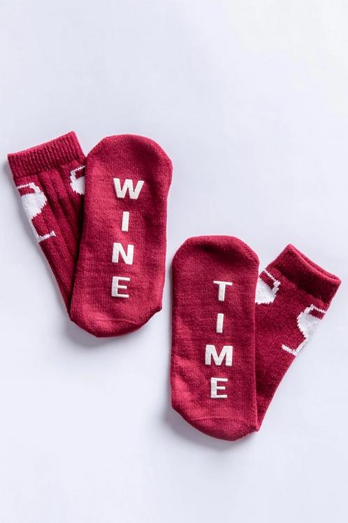 PJ Salvage Wine Time Socks