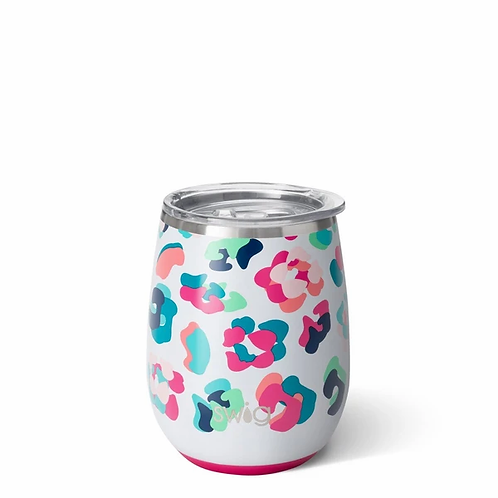 Party Animal 14oz Swig Stemless Wine Cup