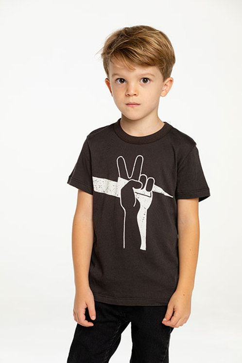 PEACE BOLT SHORT SLEEVE TEE