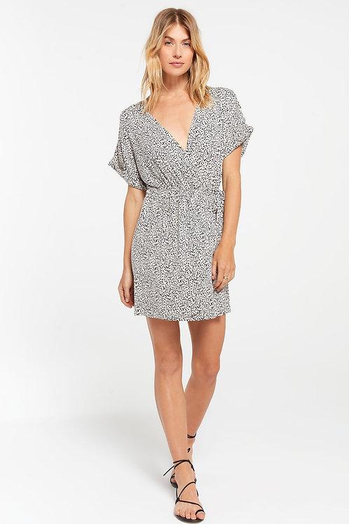 Z-Supply Torre Mini Leopard Wrap Dress