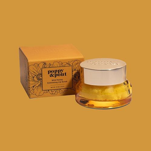 Poppy and Pout Wild Honey Exfoliating Lip Scrub