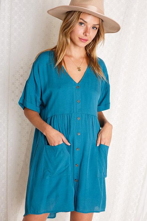 Front Pocket Dress