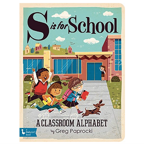 S Is for School Hardcover Book