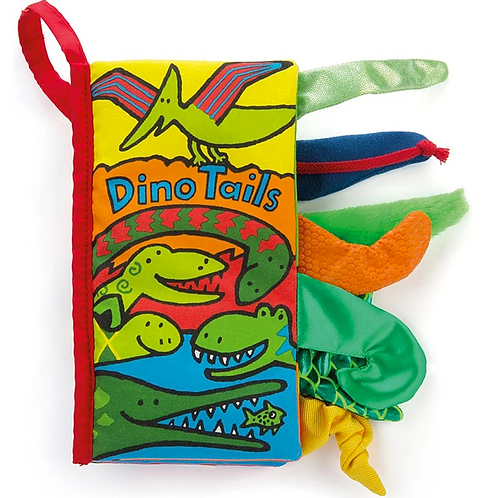 Jelly Cat Dino Tails Book