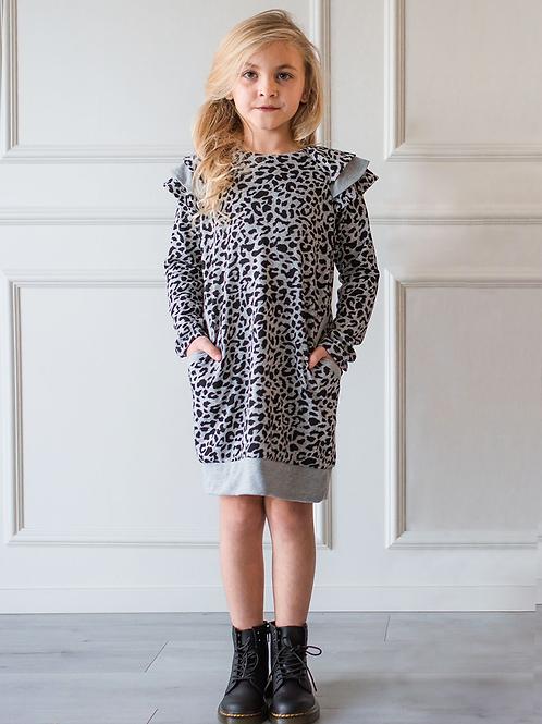 Isobella and Chloe Cheetah Dress