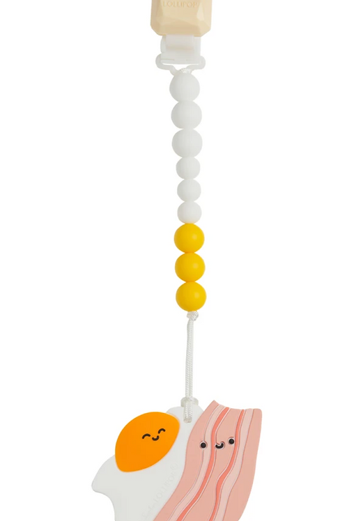 Breakfast Silicone Teether Set