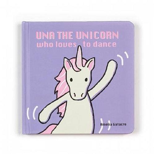 Jelly Cat Una Unicorn Book