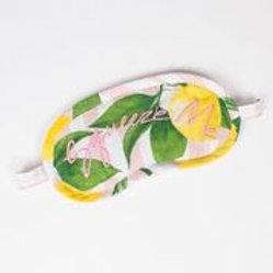 Eye Mask - Lemon