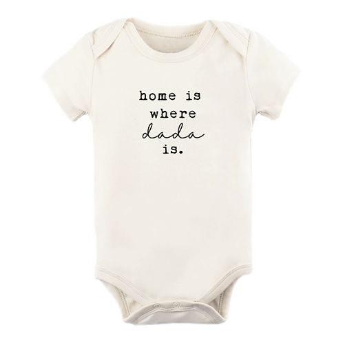 Home is Where Dada is Onesie