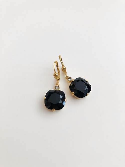 La Vie Crystal Drop Earrings