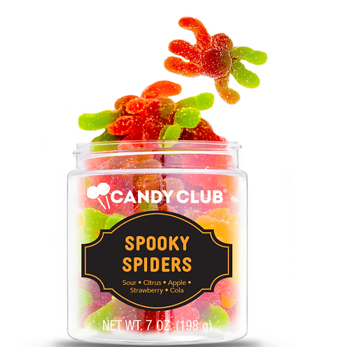 Candy Club Spooky Spiders