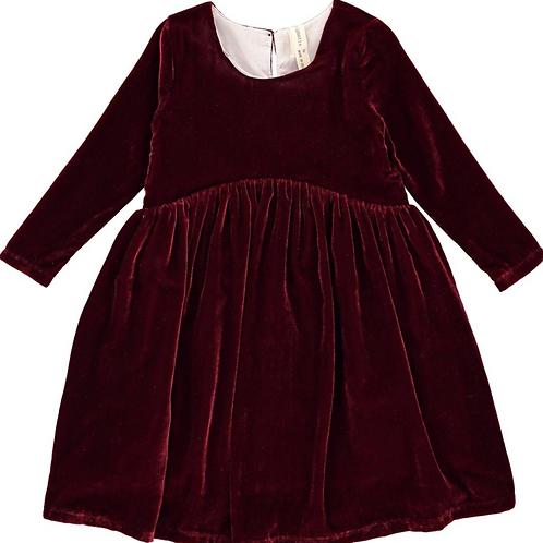 Burgundy Charlotte Dress