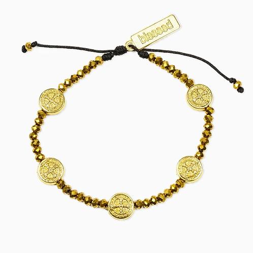 Gold Gratitude Bracelet