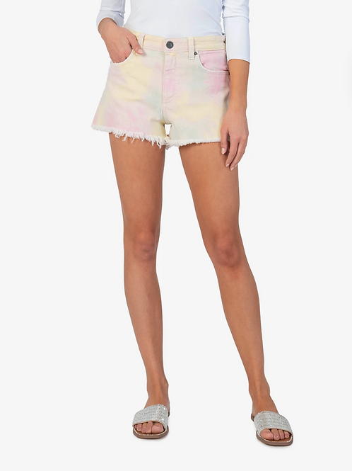 KUT From The Kloth Tie Dye Shorts