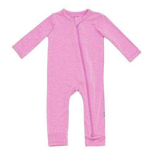Kyte Baby Zippered Romper In Bubblegum