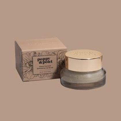 Poppy and Pout Island Coconut Exfoliating Lip Scrub