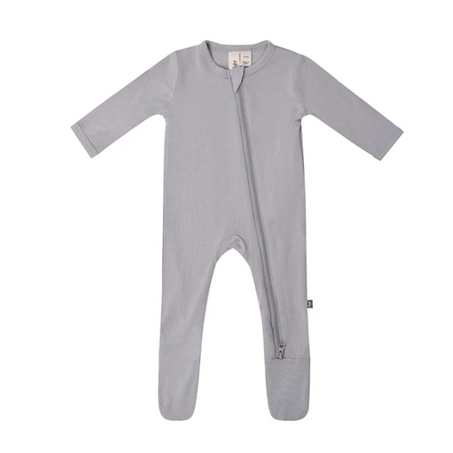 Kyte Baby Zippered Footie in Storm