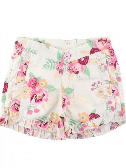 Bouquet RuffleButts Shorts