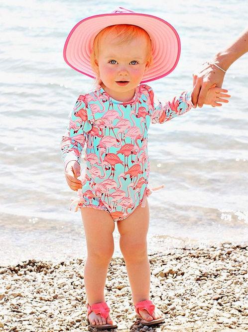 Fab Flamingo One Piece Swimsuit
