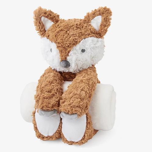 Swirl Fox Bedtime Huggie PlushToy