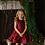 Thumbnail: Red Satin Dress