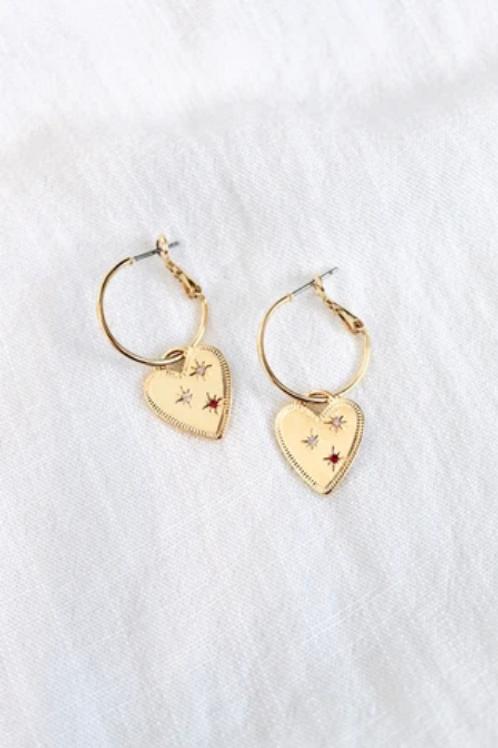 Everly Hoop Earrings