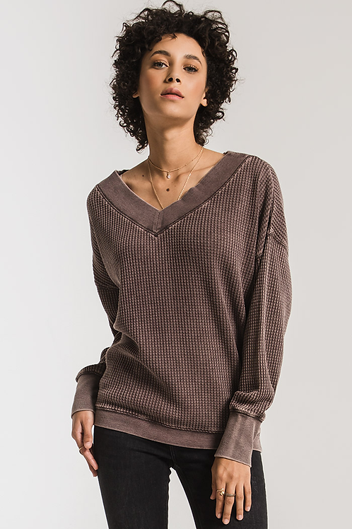Z-Supply Emilia Waffle Thermal Top