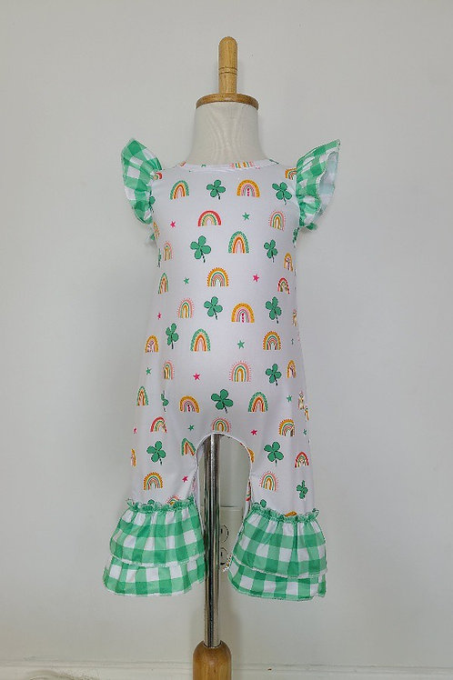 Lucky Charm Baby Romper