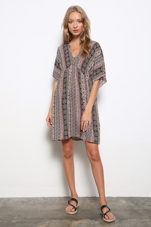 Bohemian Babydoll Dress