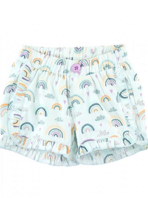 Chasing Rainbows RuffleButts Shorts