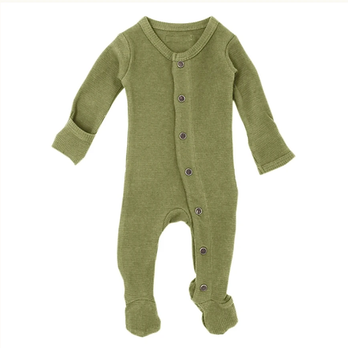 L'oved Baby Sage Thermal Footie