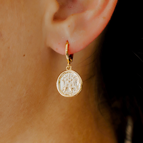 Wax Seal Earring
