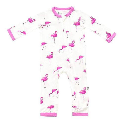 Kyte Baby Flamingo Printed Romper