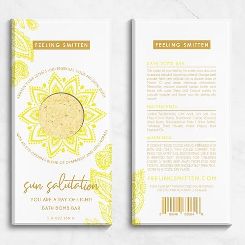 Sun Salutation Bath Bar
